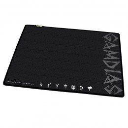 Gamdias Mouse Mat, GMM1500, Black, Size: 430 x 350 x 4 mm mm