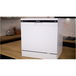 Candy Dishwasher Candy CDCP 8/E Table, Width 55 cm, Number of place settings 8, Number of programs 6, A+, White