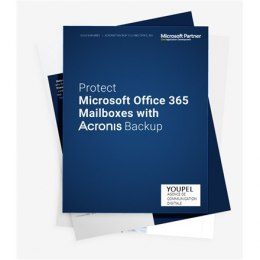 Acronis 1 year(s), Backup Standard Office 365 Subscription License 25 Mailboxes