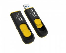 ADATA UV128 64 GB, USB 3.0, Black/Yellow