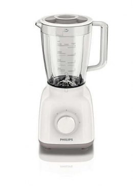 Blender Philips Daily Collection Blender White/Beige, 400 W, Plastic, 1.5 L,