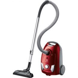 Electrolux Vacuum cleaner EEG43WR Bagged, Red, 650 W, 3 L, A, A, C, A, 80 dB,