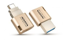ADATA Type-C OTG Flash drive UC350 64 GB, USB 3.1, Gold