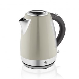 ETA Kettle Ela Standard, Stainless steel, Cream, 2100 W, 360° rotational base, 1.7 L