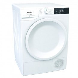 Gorenje Dryer machine 	DE71 Front loading, Heat pump, 7 kg, Energy efficiency class A+, White, LED, Depth 62.5 cm, Display,