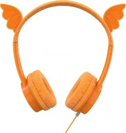 Zagg iFrogz Little Rockerz Dragon Headphones Headband/On-Ear, 3.5 mm, Orange,