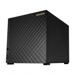 Asus Asustor Tower NAS AS1004T v2 up to 4 HDD, Marvell, ARMADA-385, Processor frequency 1.6 GHz, 0.512 GB