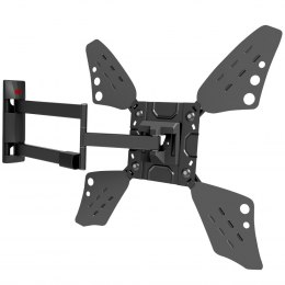 "Barkan Flat/ Curved TV Wall Mount 3400L Wall Mount, Full motion, 40-70 "", Maximum weight (capacity) 40 kg, Black"