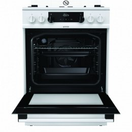 Gorenje Cooker K634WH Hob type Gas, Oven type Electric, White, Width 60 cm, Electronic ignition, Grilling, LED, 65 L, Depth 60