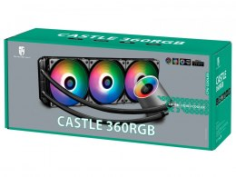 Deepcool CASTLE 360 RGB Intel, AMD, CPU Liquid Cooler