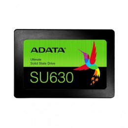 "ADATA Ultimate SU630 3D NAND SSD 960 GB, SSD form factor 2.5"", SSD interface SATA, Write speed 450 MB/s, Read speed 520 MB/s"