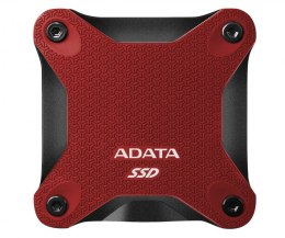 ADATA External SSD SD600Q 240 GB, USB 3.1, Red
