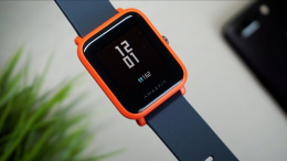 Amazfit Bip Smart watch, GPS (satellite), Reflective color display screen, Touchscreen, Heart rate monitor, Activity monitoring