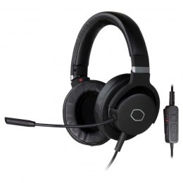 Cooler Master Gaming Headset, 3.5mm 4-pole jack / USB Type A, MH-752, Black, Built-in microphone