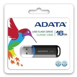 ADATA C906 16 GB, USB 2.0, Black