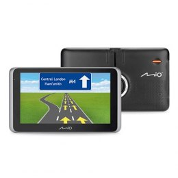 "Mio Truck navigation MiVue Drive 65 6.2"" touchscreen, Bluetooth, GPS (satellite), Traffic Message Channel (TMC), Maps included"