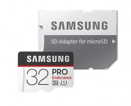 Samsung PRO Endurance 32 GB, Micro SDHC, Flash memory class 10, Adapter