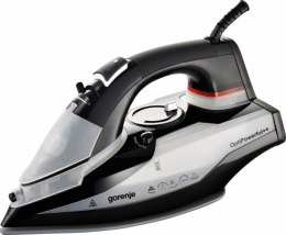 Gorenje SIH2600GC Black/Grey, 2600 W, Steam Iron, Continuous steam 30 g/min, Steam boost performance 100 g/min, Auto power off,