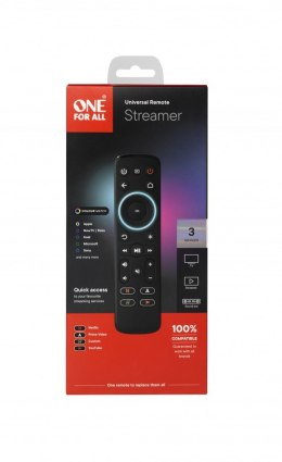 ONE For ALL URC7935 Streaming Remote For Use With TV/LCD/LED/Plasma Audio/Amplifier/Soundbar/Hi-Fi Streaming Box (Apple TV, Rok
