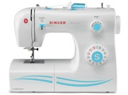Singer SMC 2263/00 Sewing Machine Singer 2263 White, Number of stitches 23 Built-in Stitches, Number of buttonholes 1, Automatic
