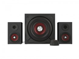 Genesis Computer speakers 2.1 Helium 600 NCS-0856 60 W, Portable, Black, red