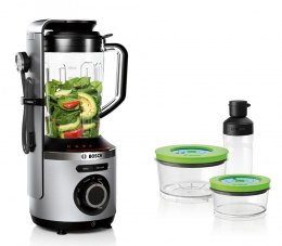 Bosch Blender VitaMaxx is a 2-in-1 MMBV625M Stainless steel, 1000 W, Plastic, 1.5 L, Ice crushing, Type Stand blender, 37000 RP