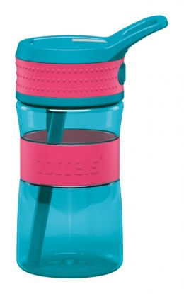 Boddels EEN Drinking bottle Bottle, Raspberry red/Turqouise blue, Capacity 0.4 L, Yes