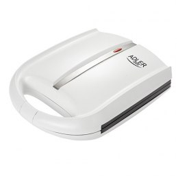 Adler Nut maker AD 3039 White, 1400 W, Number of waffles Bakes 24 half-peanuts at one time.