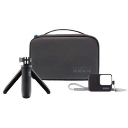 GoPro Travel Kit AKTTR-001 Quantity Mini Extension Pole + Tripod and the Sleeve + Lanyard