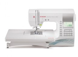 Singer Sewing Machine Quantum Stylist 9960 Number of stitches 600, Number of buttonholes 13, White