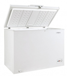 Goddess Freezer GODFTE0300WW9 Chest, Height 85 cm, Total net capacity 301 L, A++, Freezer number of shelves/baskets 1, White, Fr