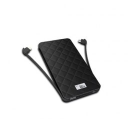 IWalk Extreme TRIO Ultra-slim Thin 10000mAh Universal battery pack (Black)