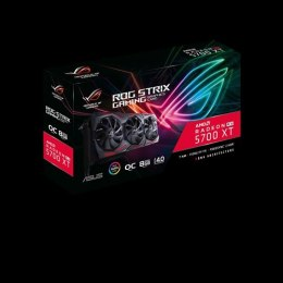 Asus ROG-STRIX-RX5700XT-O8G-GAMING AMD, 8 GB, Radeon RX 5700 XT, GDDR6, PCI Express 4.0, Processor frequency 1905 MHz, Memory cl