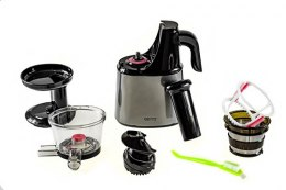 Camry Slow juicer CR 4120 Type Automatic juicer, Black, 150 W, Number of speeds 1, 70 - 80 RPM