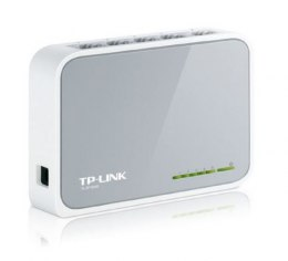 TP-LINK Switch TL-SF1005D Unmanaged, Desktop, 10/100 Mbps (RJ-45) ports quantity 5, Power supply type External