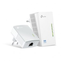 TP-LINK Powerline Adapters Kit TL-WPA4220 KIT 10/100 Mbit/s, Ethernet LAN (RJ-45) ports 2, 802.11n, 2.4GHz, Wi-Fi data rate (max