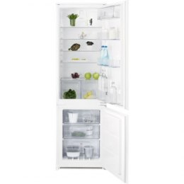 Electrolux Refrigerator ENN2812AOW Built-in, Combi, Height 177 cm, A++, Fridge net capacity 196 L, Freezer net capacity 72 L, Di