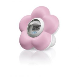 Philips Bath and Room Thermometer Pink flower Avent SCH550/21