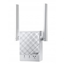 Asus Repeater RP-AC51 802.11ac, 2.4GHz/5GHz, 300+433 Mbit/s, 10/100 Mbit/s, Ethernet LAN (RJ-45) ports 1, Antenna type 2xExterna