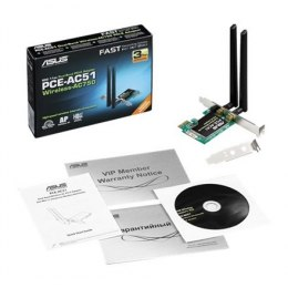 Asus Wireless-AC750 Dual-band PCI-E Adapter PCE-AC51