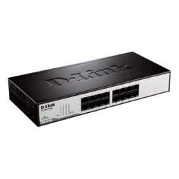 D-Link Switch DES-1016D Unmanaged, Desktop, 10/100 Mbps (RJ-45) ports quantity 16