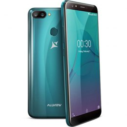 "Allview P10 Pro Dark Green, 5.99 "", IPS LCD, 720x1440 pixels, Mediatek MT6739, Internal RAM 3 GB, 32 GB, microSD, Dual SIM, Nano"