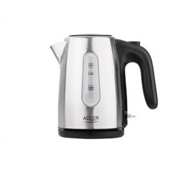 Adler AD 1273 Kettle, Electric, Power 1630 W, Capacity 1 L, Metal, Stainless steel