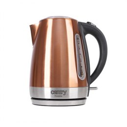 Camry Kettle CR 1271 Electric, 2200 W, 1.7 L, Stainless steel, Copper, 360° rotational base