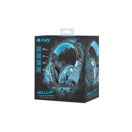 Fury Gaming Headset, Wired, NFU-0863	Hellcat, Black/Blue, Built-in microphone