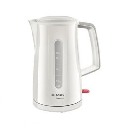 Bosch Kettle TWK3A011 Standard, Plastic, Cream, 2400 W, 360° rotational base, 1.7 L