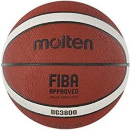 Basketball ball competition MOLTEN B6G3800 FIBA, synth. leather size 6