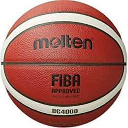 Basketball ball competition MOLTEN B6G4000-X FIBA, synth. leather size 6