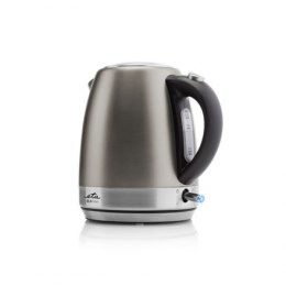 ETA Kettle Ela mini ETA859990040 Electric, 2100 W, 1.2 L, Stainless steel, Grey, 360° rotational base