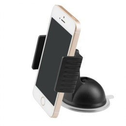 Acme PM2204 Black, Adjustable, 360 °, Clamp dash smartphone car mount, Installation: windshield/dashboard, Mount dimensions: 90